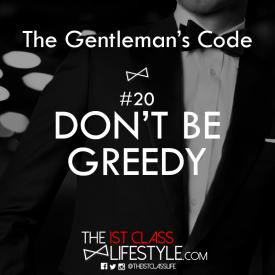 The Gentleman's Code #20